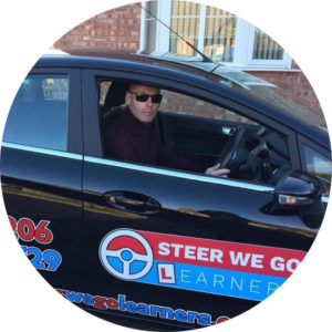 Driving instructor Robbie